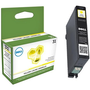 331-7692 Ink Cartridge - Dell Genuine OEM (Yellow)