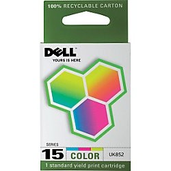 UK852 Ink Cartridge - Dell Genuine OEM  (Color)