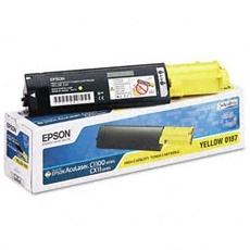 S050187 Toner Cartridge - Epson Genuine OEM (Yellow)