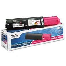 S050192 Toner Cartridge - Epson Genuine OEM (Magenta)