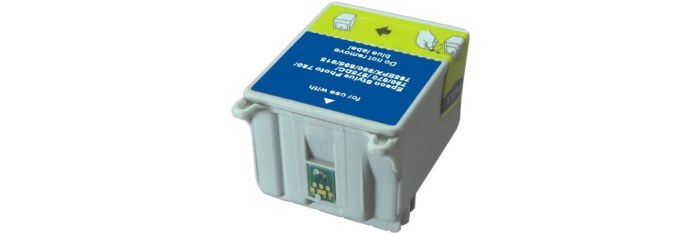 T008201 Ink Cartridge - Epson Remanufactured (Color)