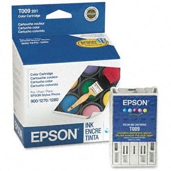 T009201 Ink Cartridge - Epson Genuine OEM (Color)