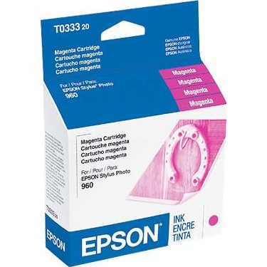 T033320 Ink Cartridge - Epson Genuine OEM (Magenta)