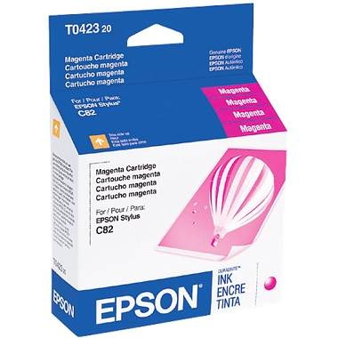 T042320 Ink Cartridge - Epson Genuine OEM (Magenta)