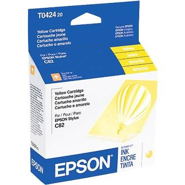 T042420 Ink Cartridge - Epson Genuine OEM (Yellow)