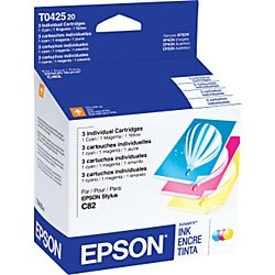 T042520 Ink Cartridge - Epson Genuine OEM
