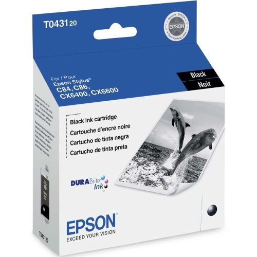 T043120 Ink Cartridge - Epson Genuine OEM (Black)