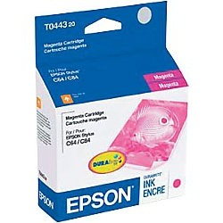 T044320 Ink Cartridge - Epson Genuine OEM (Magenta)
