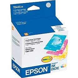 T044520 Ink Cartridge - Epson Genuine OEM (Bundle Pack)