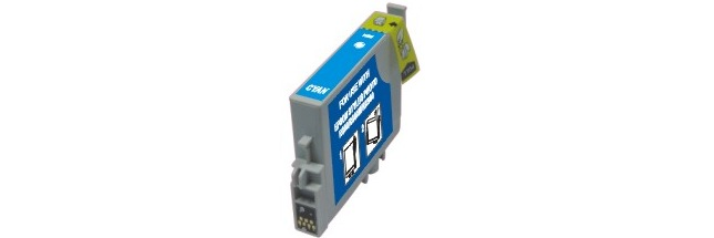 T048220 Ink Cartridge - Epson Remanufactured (Cyan)