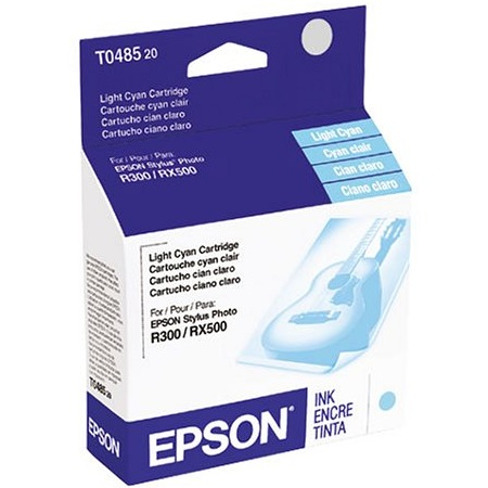 T048520 Ink Cartridge - Epson Genuine OEM (Light Cyan)