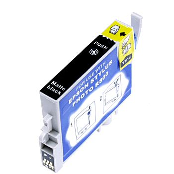 T054820 Ink Cartridge - Epson Remanufactured (Matte Black)