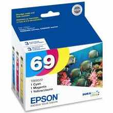 T069520 Ink Cartridges - Epson Genuine OEM
