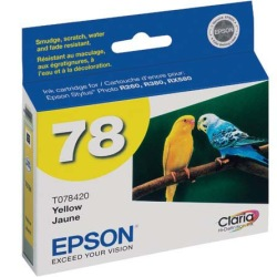 T078420 Ink Cartridge - Epson Genuine OEM (Yellow)
