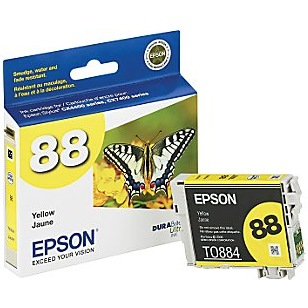 T088420 Ink Cartridge - Epson Genuine OEM (Yellow)