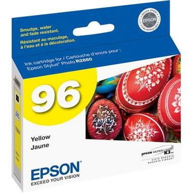 T096420 Ink Cartridge - Epson Genuine OEM (Yellow)