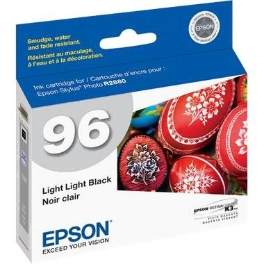 T096920 Ink Cartridge - Epson Genuine OEM (Light Light Black)