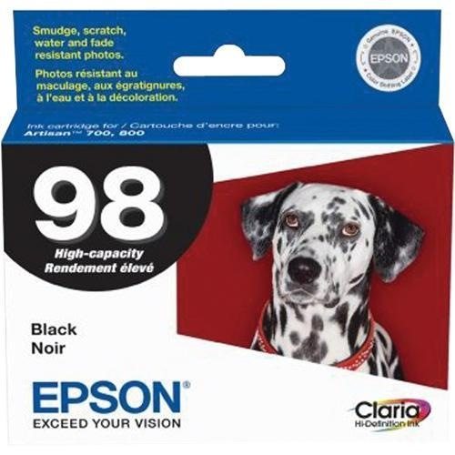 T098120 Ink Cartridge - Epson Genuine OEM (Black)
