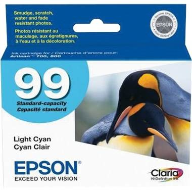 T099520 Ink Cartridge - Epson Genuine OEM (Light Cyan)