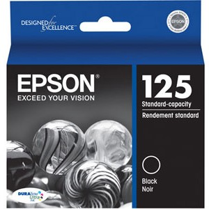T125120 Ink Cartridge - Epson Genuine OEM (Black)