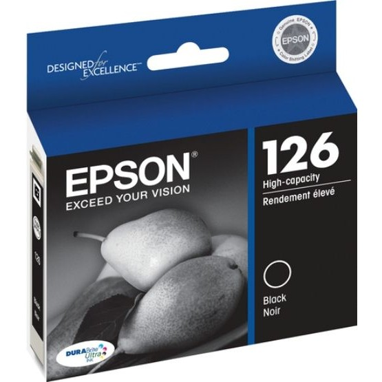 T126120 Ink Cartridge - Epson Genuine OEM (Black)