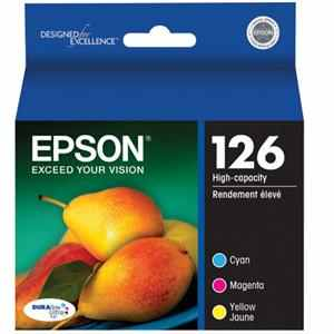 T126520 Ink Cartridges - Epson Genuine OEM