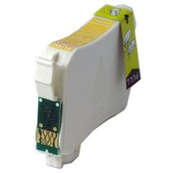 T127420 Ink Cartridge - Epson Remanufactured  (Yellow)
