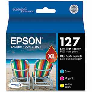 T127520 Ink Cartridge - Epson Genuine OEM (Bundle Pack)