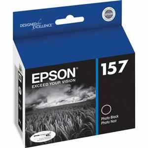 T157120 Ink Cartridge - Epson Genuine OEM (Photo Black)
