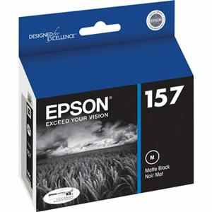 T157820 Ink Cartridge - Epson Genuine OEM (Matte Black)