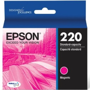 T220320 Ink Cartridge - Epson Genuine OEM (Magenta)