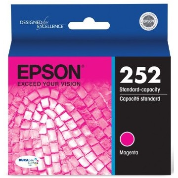T252320 Ink Cartridge - Epson Genuine OEM (Magenta)