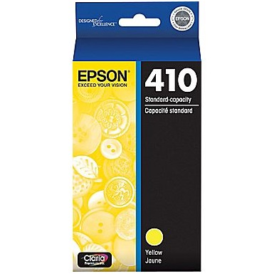T410420 Ink Cartridge - Epson Genuine OEM (Yellow)