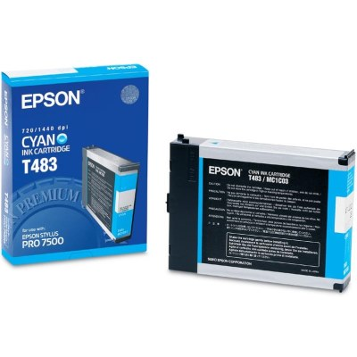 T483011 Ink Cartridge - Epson Genuine OEM (Cyan)