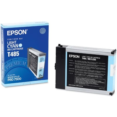 T485011 Ink Cartridge - Epson Genuine OEM (Light Cyan)