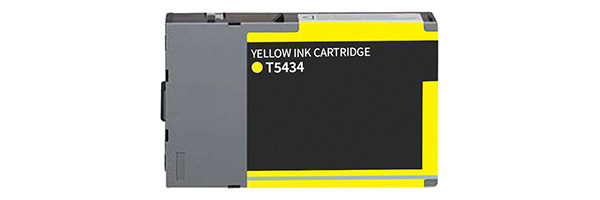 T543400 Ink Cartridge - Epson Remanufactured (Yellow)