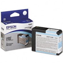 T580500 Ink Cartridge - Epson Genuine OEM (Light Cyan)