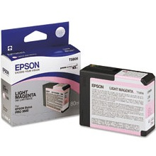 T580600 Ink Cartridge - Epson Genuine OEM (Light Magenta)