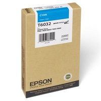 T603200 Ink Cartridge - Epson Genuine OEM (Cyan)