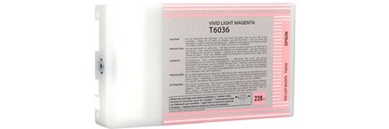 T603600 Ink Cartridge - Epson Remanufactured (Light Magenta)