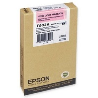 T603600 Ink Cartridge - Epson Genuine OEM (Light Vivid Magenta)