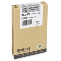 T603900 Ink Cartridge - Epson Genuine OEM (Light Light Black)