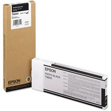 T606100 Ink Cartridge - Epson Genuine OEM (Photo Black)