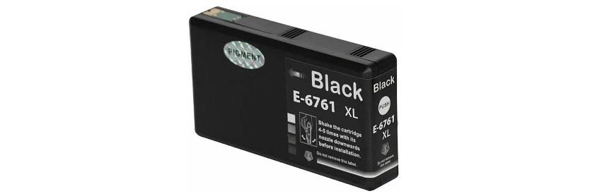 T676XL120 Ink Cartridge - Epson Remanufactured (Black)