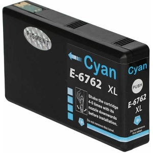 T676XL220 Ink Cartridge - Epson Remanufactured (Cyan)