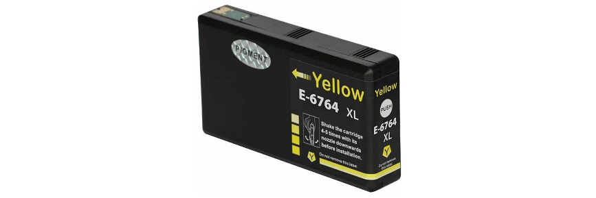 T676XL420 Ink Cartridge - Epson Remanufactured (Yellow)