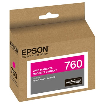 T760320 Ink Cartridge - Epson Genuine OEM (Magenta)
