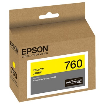 T760420 Ink Cartridge - Epson Genuine OEM (Yellow)