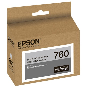 T760920 Ink Cartridge - Epson Genuine OEM (Light Light Black)