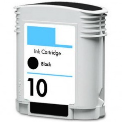 HP 10 Black Ink Cartridge - HP Remanufactured  (Black)